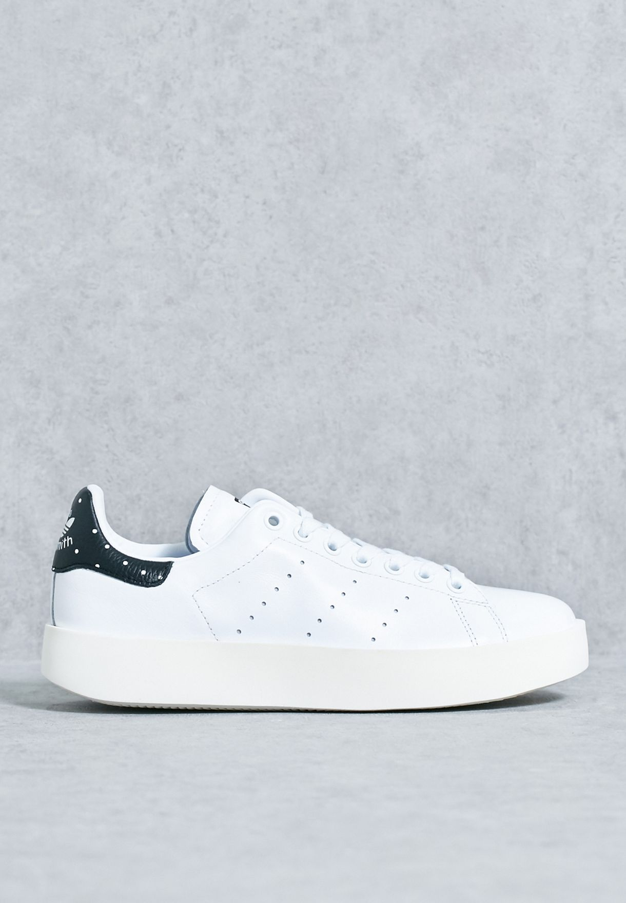 538a2193d63 Shop adidas Originals white Stan Smith Bold BA7771 for Women in UAE ...