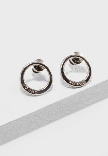 Skagen Women's Silver Stud Earrings SKJ1055040 U5oEPcVaJ