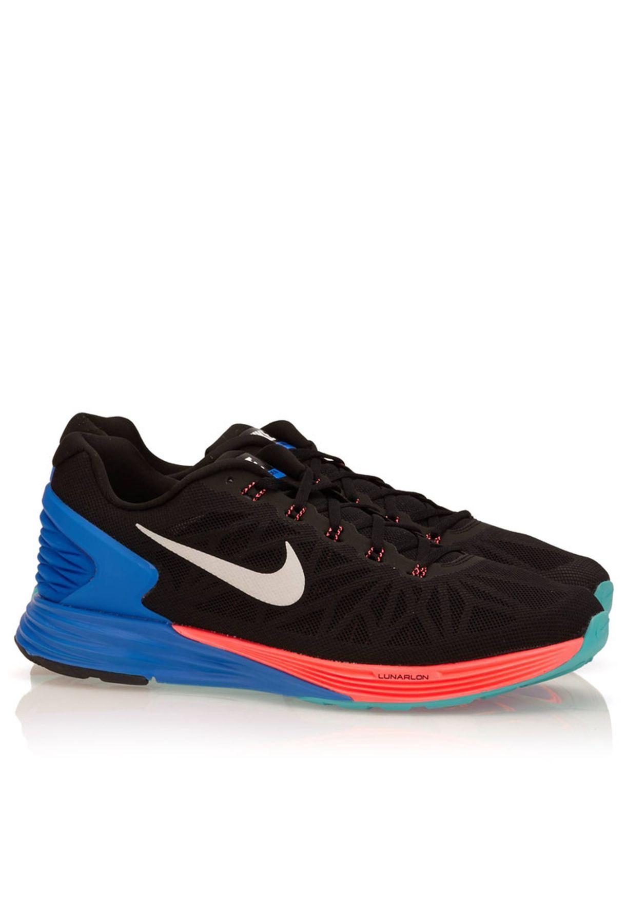 6c4199ceb184f Shop Nike multicolor Lunarglide 6 654433-002 for Men in UAE ...