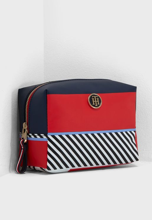 Poppy Multi Stripe Purse