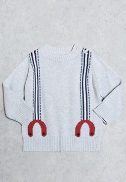 Infant Cool Jaquard Sweater