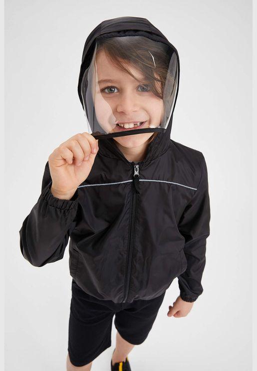 Boy Regular Fit Raincoat
