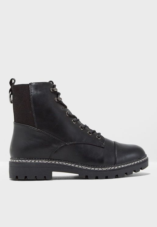 Bex Lace Up Boot