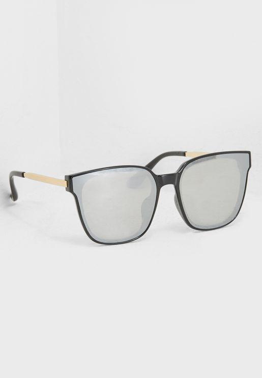 نظارة شمسية بنمط مرأه