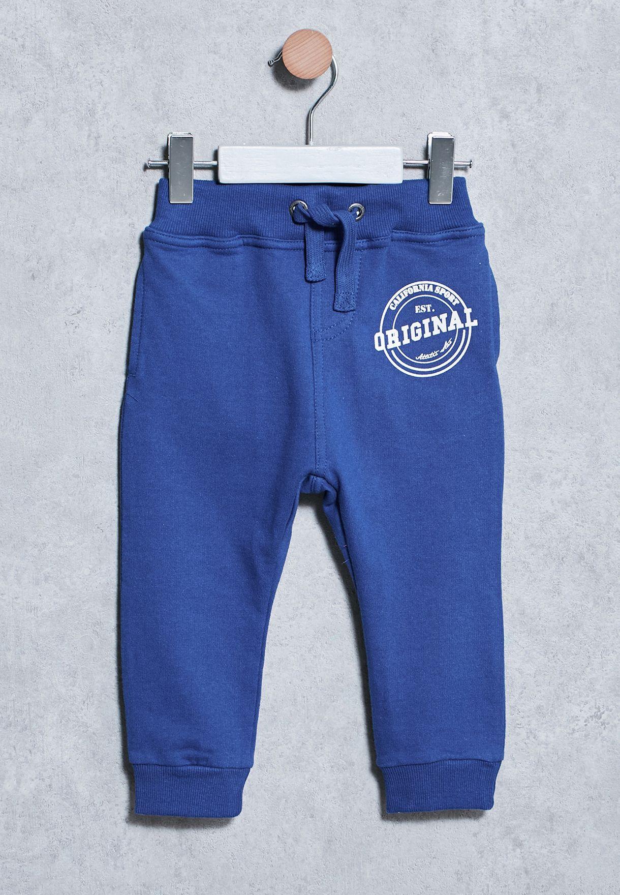 durable modeling Shop Name It blue Infant Vermond Sweatpants