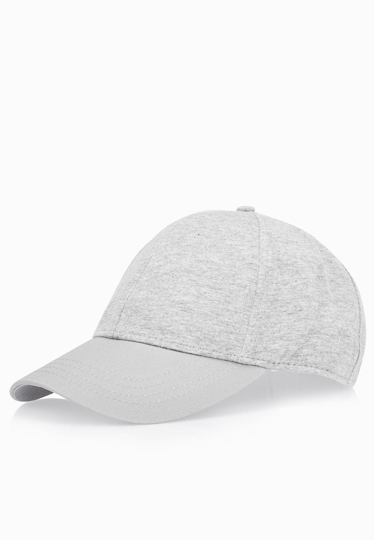 45338cd3aaebb Shop Topman grey Casual Cap 56J81MCHR for Men in Bahrain - TO857AC28XBN