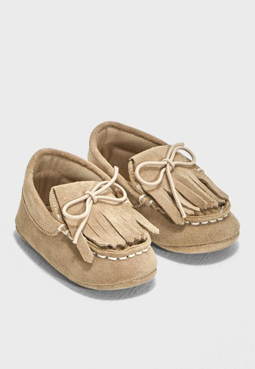 Infant Fringe Slip On