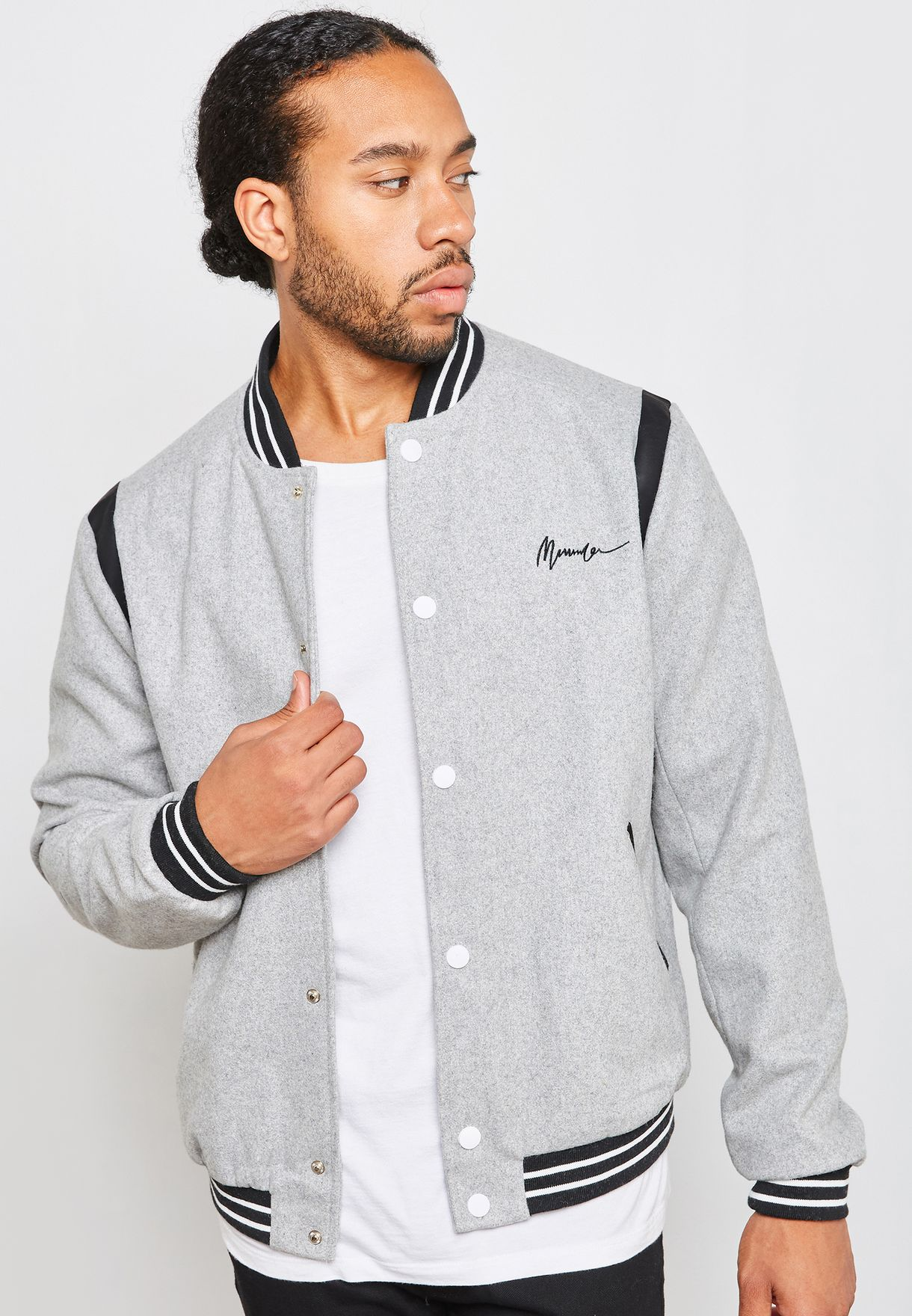 Bomber Tipping Jacket
