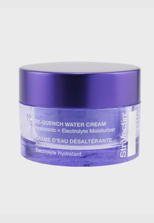 StriVectin - Advanced Hydration Re-Quench Water Cream - Hyaluronic + Electrolyte Moisturizer (Oil-Free)