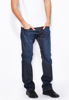 Diesel Safado Straight Fit Dark Wash Jeans