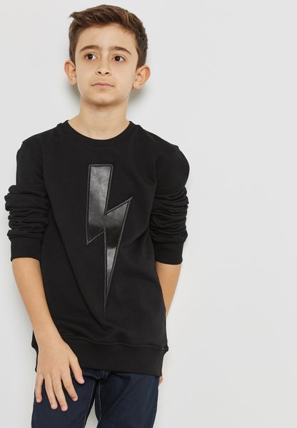 Little Lightening Bolt Sweatshirt