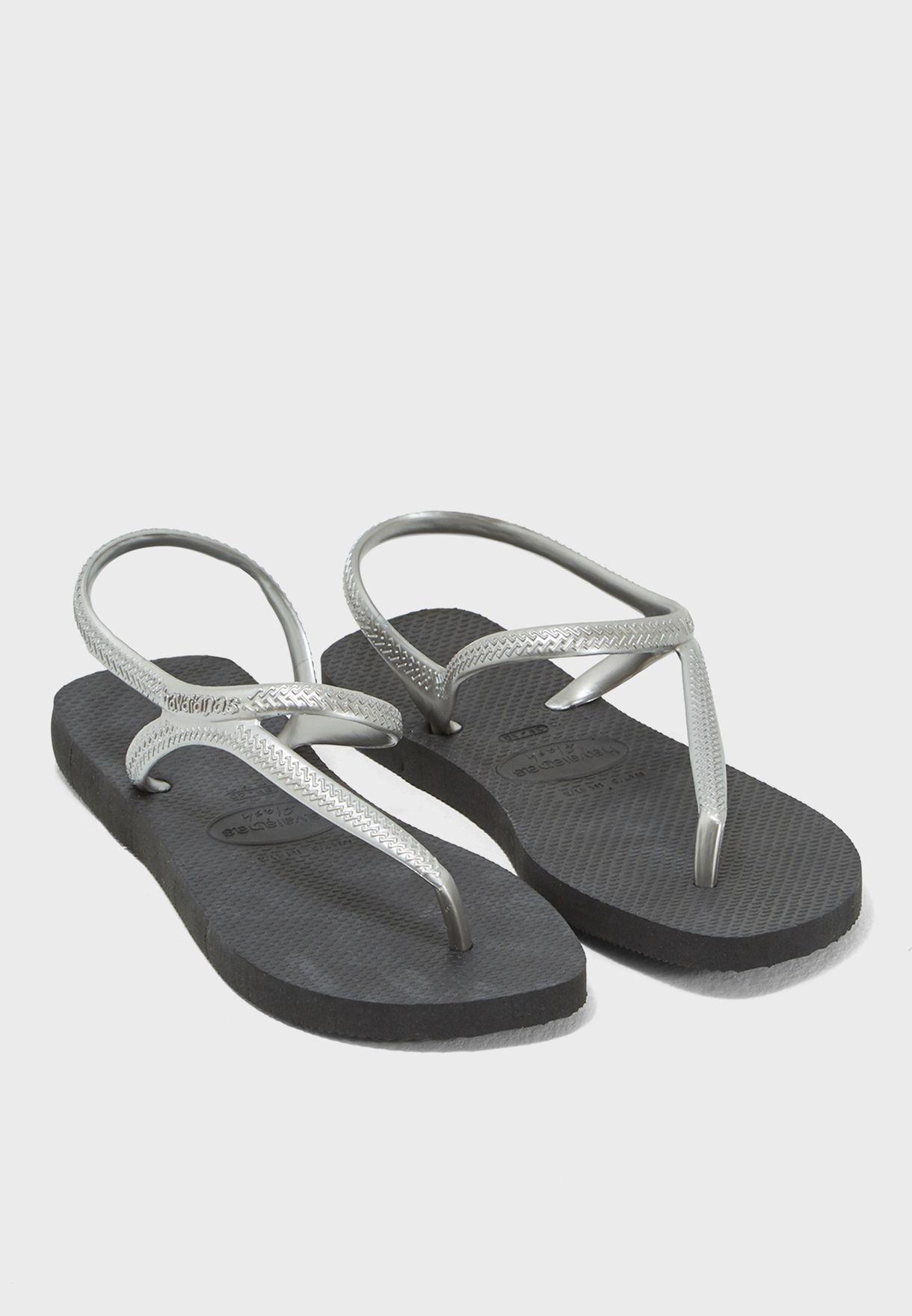40c44c2c7d1f84 Shop Havaianas black Flash Urban Slipper 4000039 for Women in Kuwait -  HA021SH28UJV