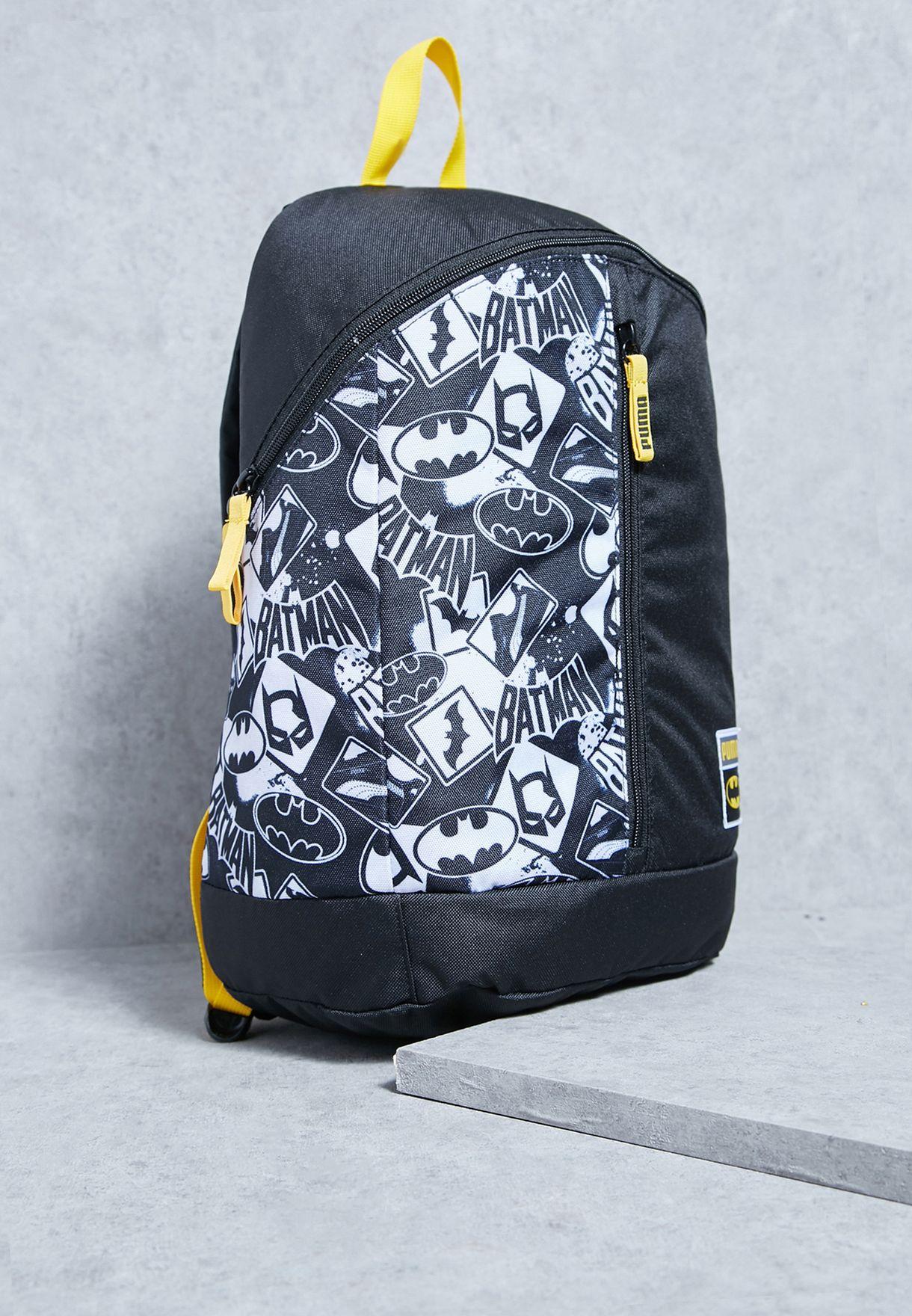 37d750b62a11 Shop PUMA black Large Batman Backpack 07444601 for Men in UAE ...