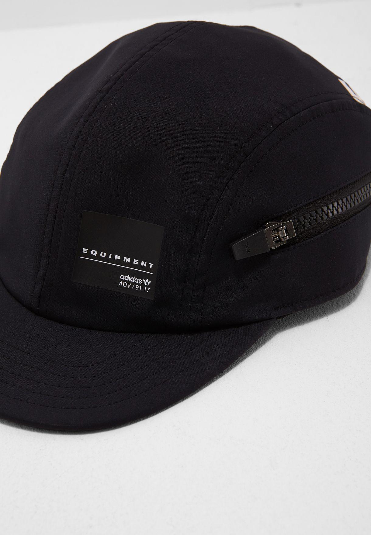 605c4d0e17a1e Shop adidas Originals black EQT Zip Cap BQ5779 for Men in Globally ...