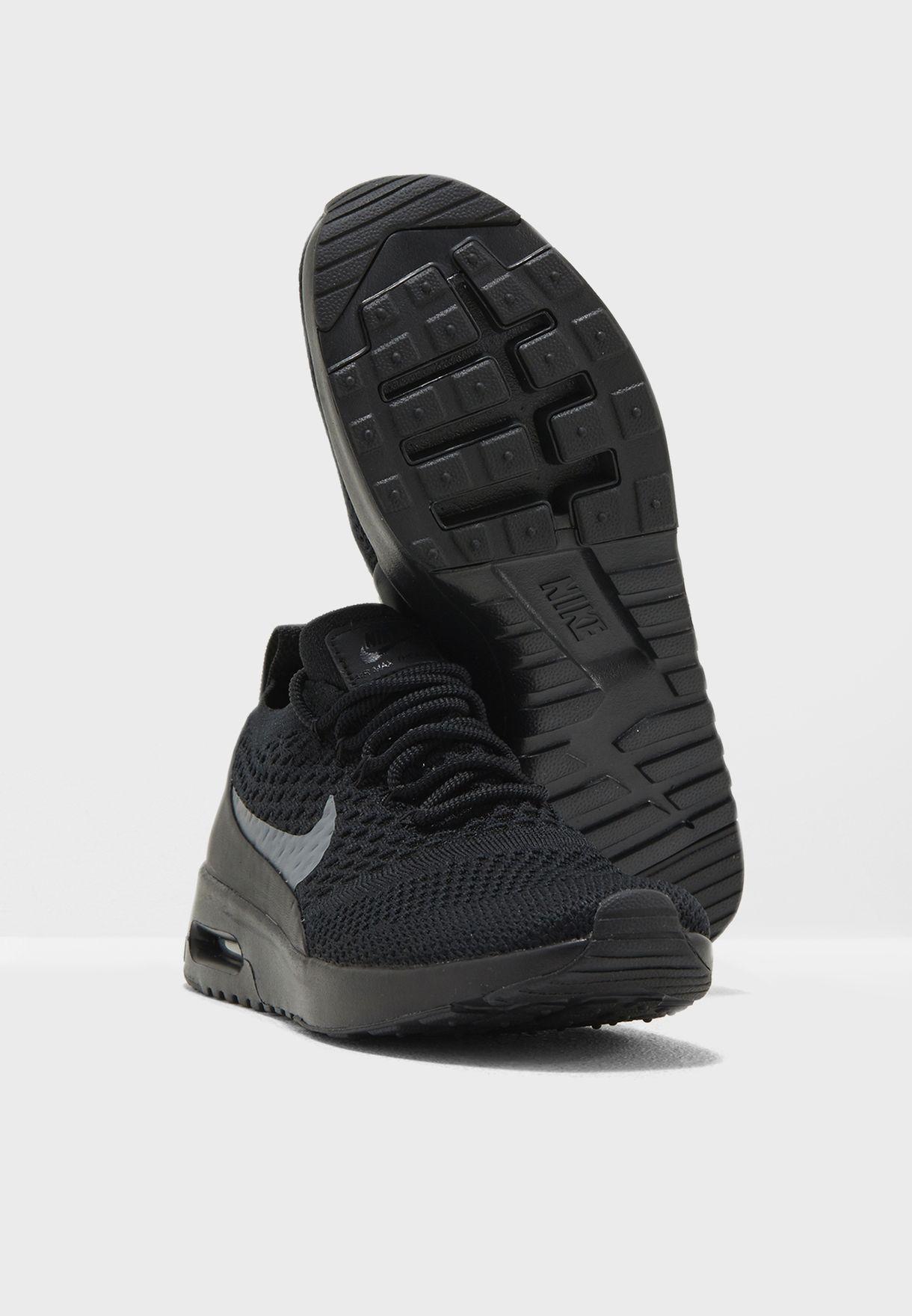 e18f33ba0aa9 Shop Nike black Air Max Thea Ultra Flyknit 881175-004 for Women in ...