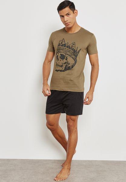 Skull King Nightwear Set