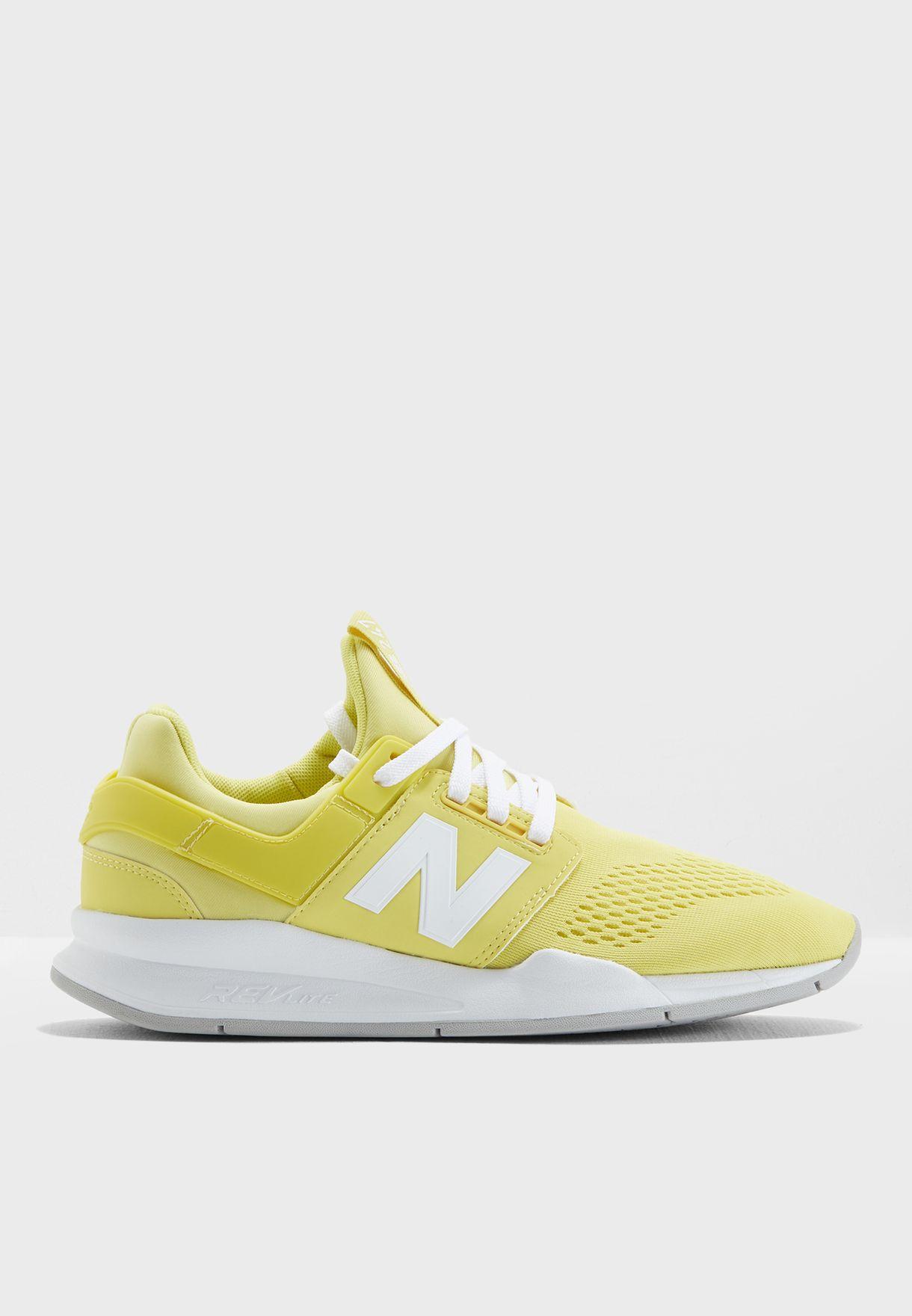 226ca68a5 تسوق حذاء رياضي 247 ماركة نيو بالانس لون أصفر WS247UG في السعودية ...
