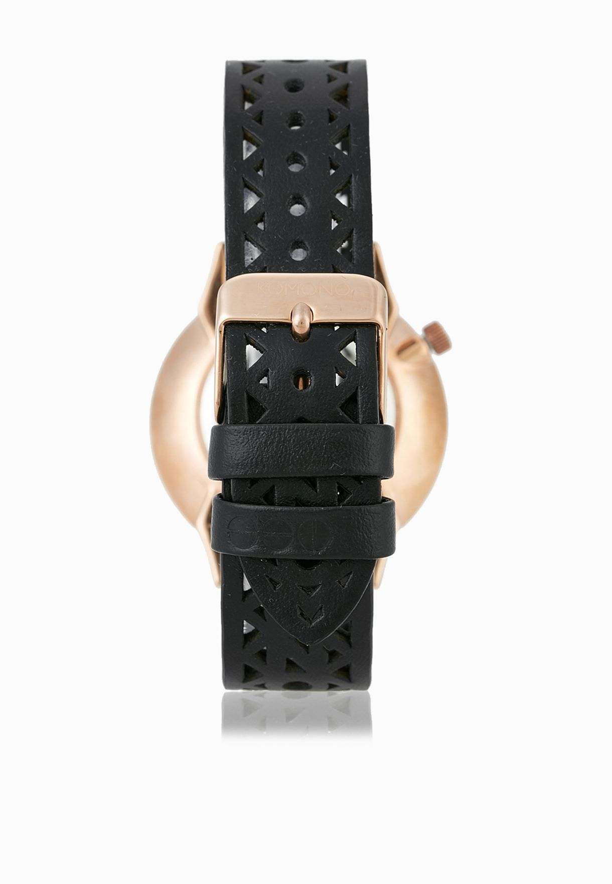 Shop Komono black Estelle Cutout Watch KOM-W2651 for Women in ... a4cc41c54c7