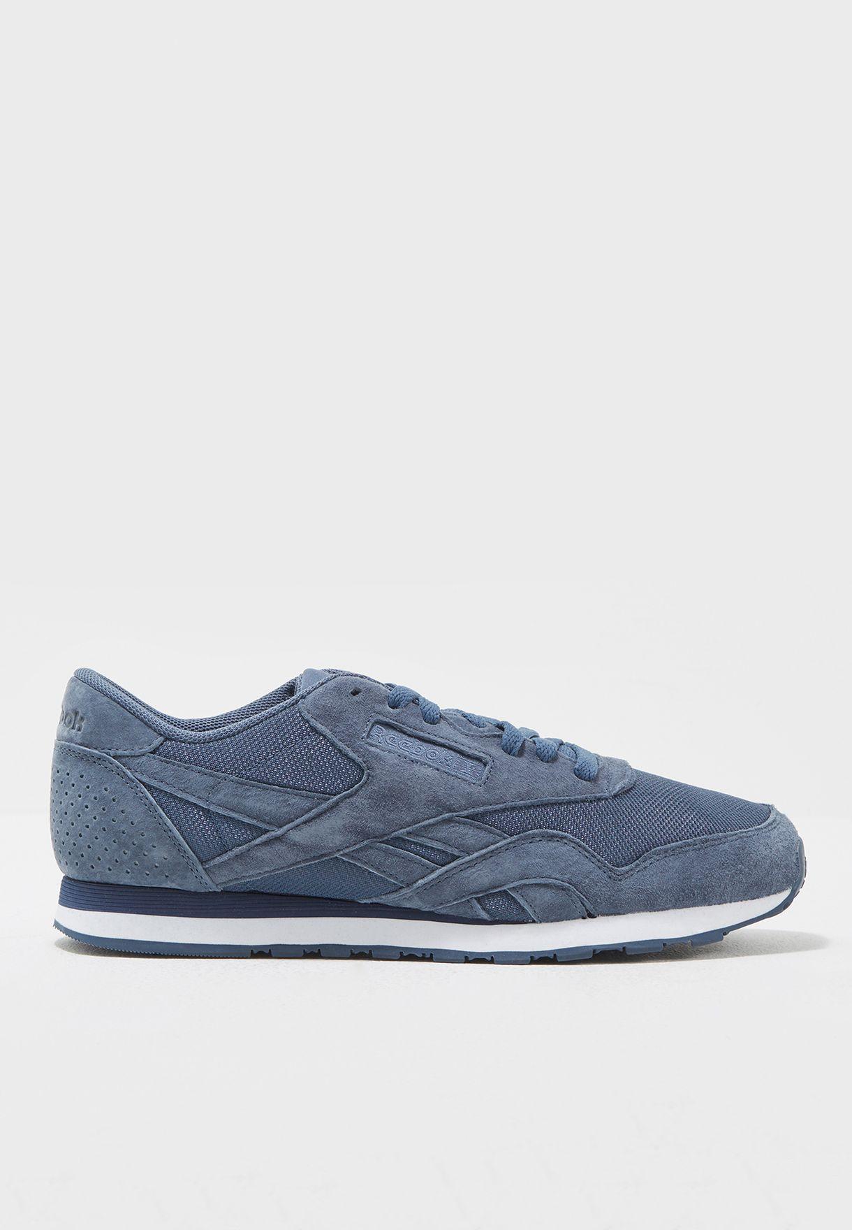 658c428c96e Shop Reebok blue Classic Nylon Tech BS8259 for Men in UAE - RE019SH18TRD