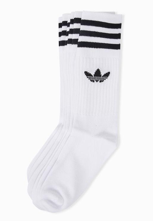 3 Pack adicolor Trefoil Socks