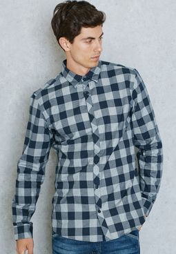 James Slim Fit Check Shirt