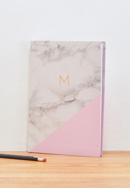 B5 Premium Monogram Notebook M - B5 17.5x25cm