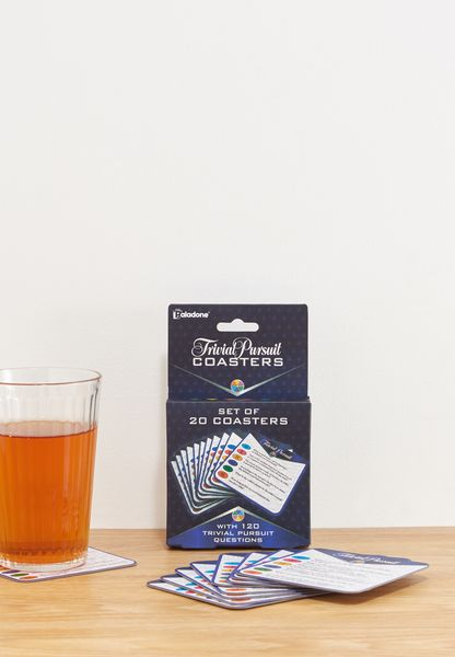 Trivial Pursuit Coasters