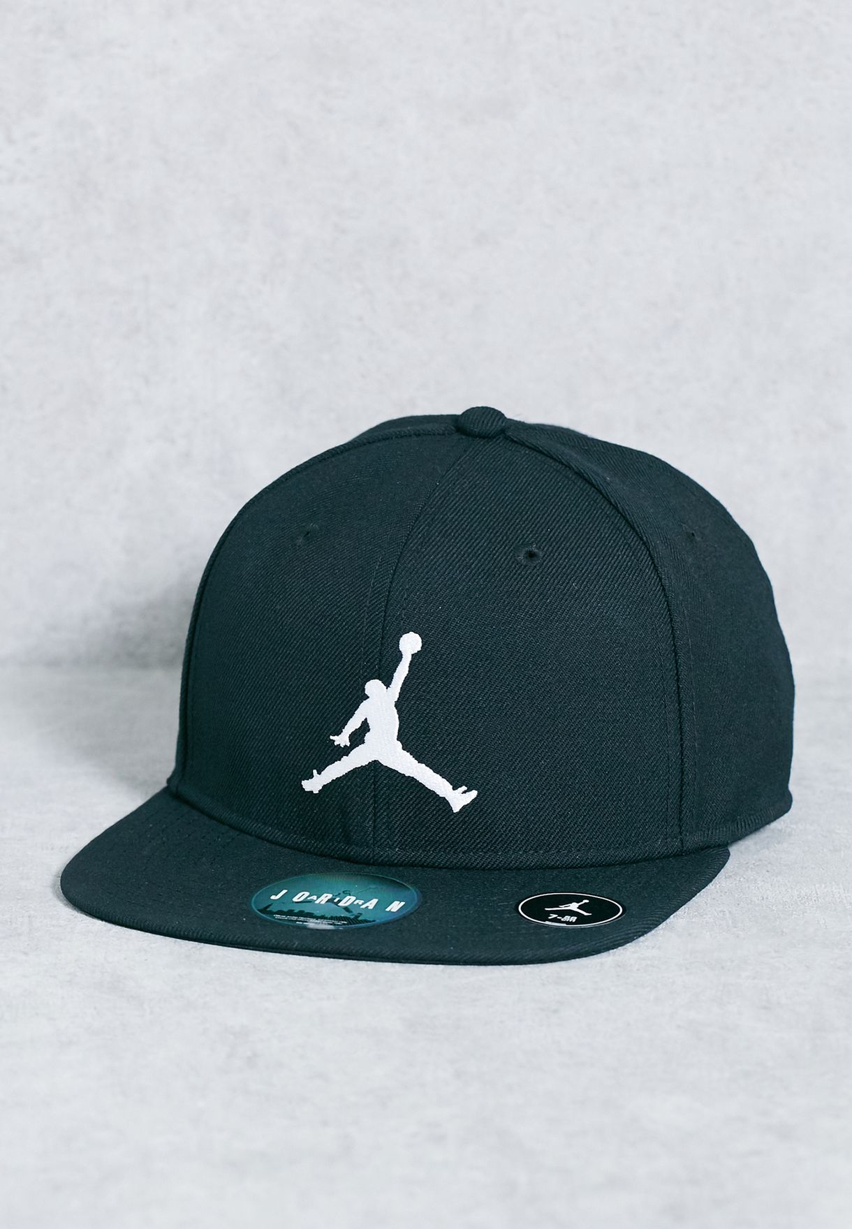 99f03cd0087 Shop Nike black Jordan Jumpman Snapback 619359-014 for Men in Qatar ...