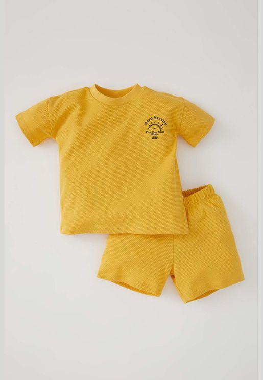 BabyBoy Set yellow