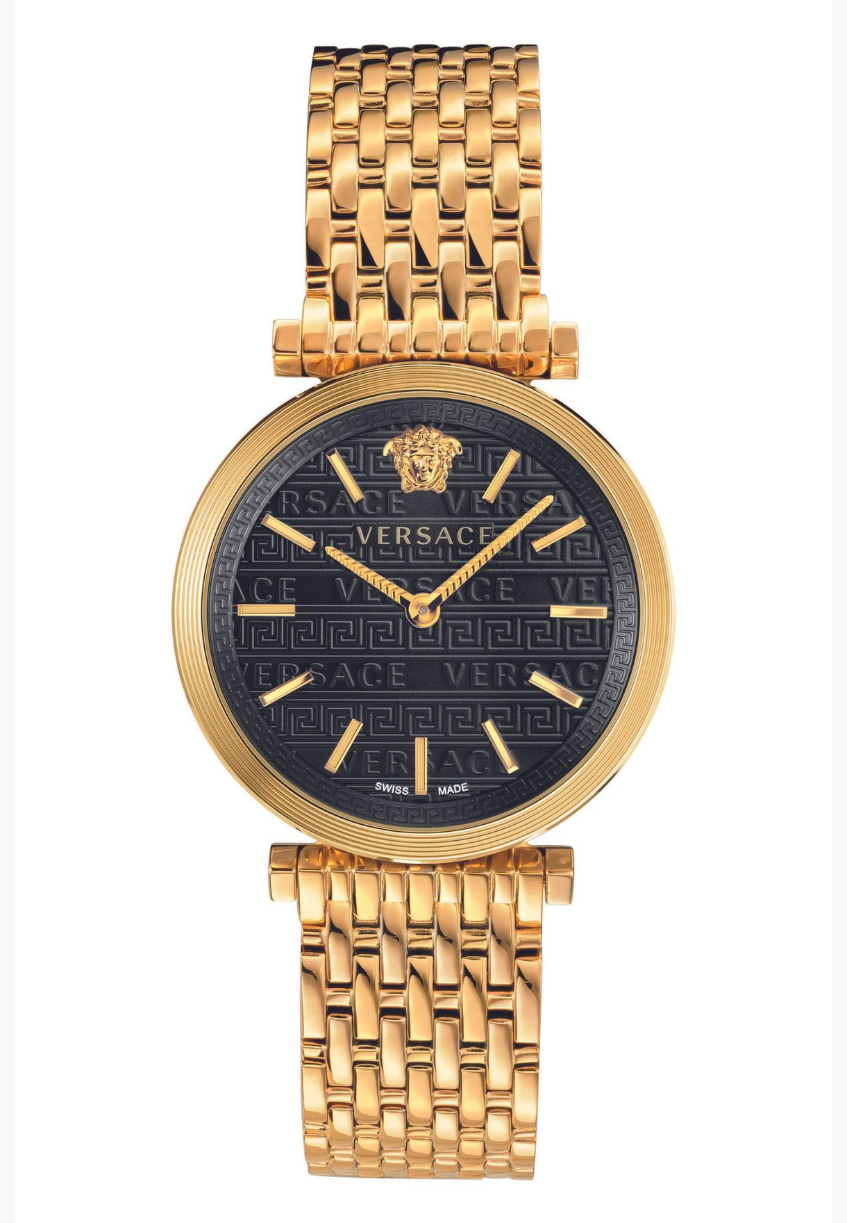 ساعة فيرساتشي تويست بسوار ستانلس ستيل للنساء - VELS00819