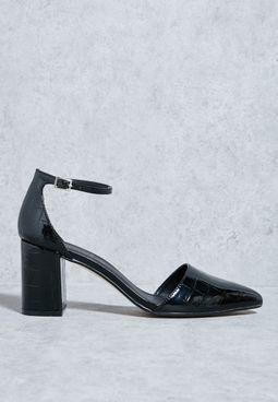 Block heel pump