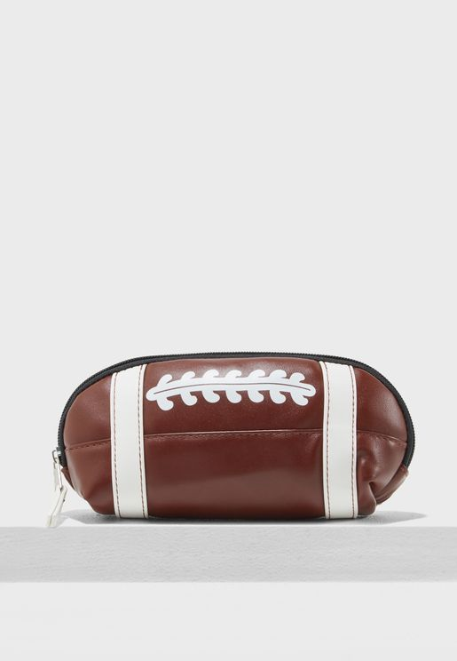 Kids Rugby Ball Pencil Case