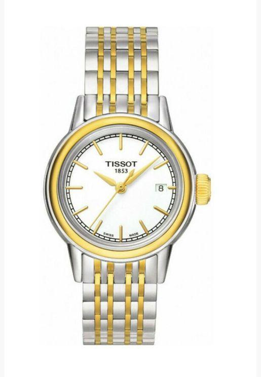 ساعة تيسو كارسون كوارتز بسوار فولاذي - T085.210.22.011.00