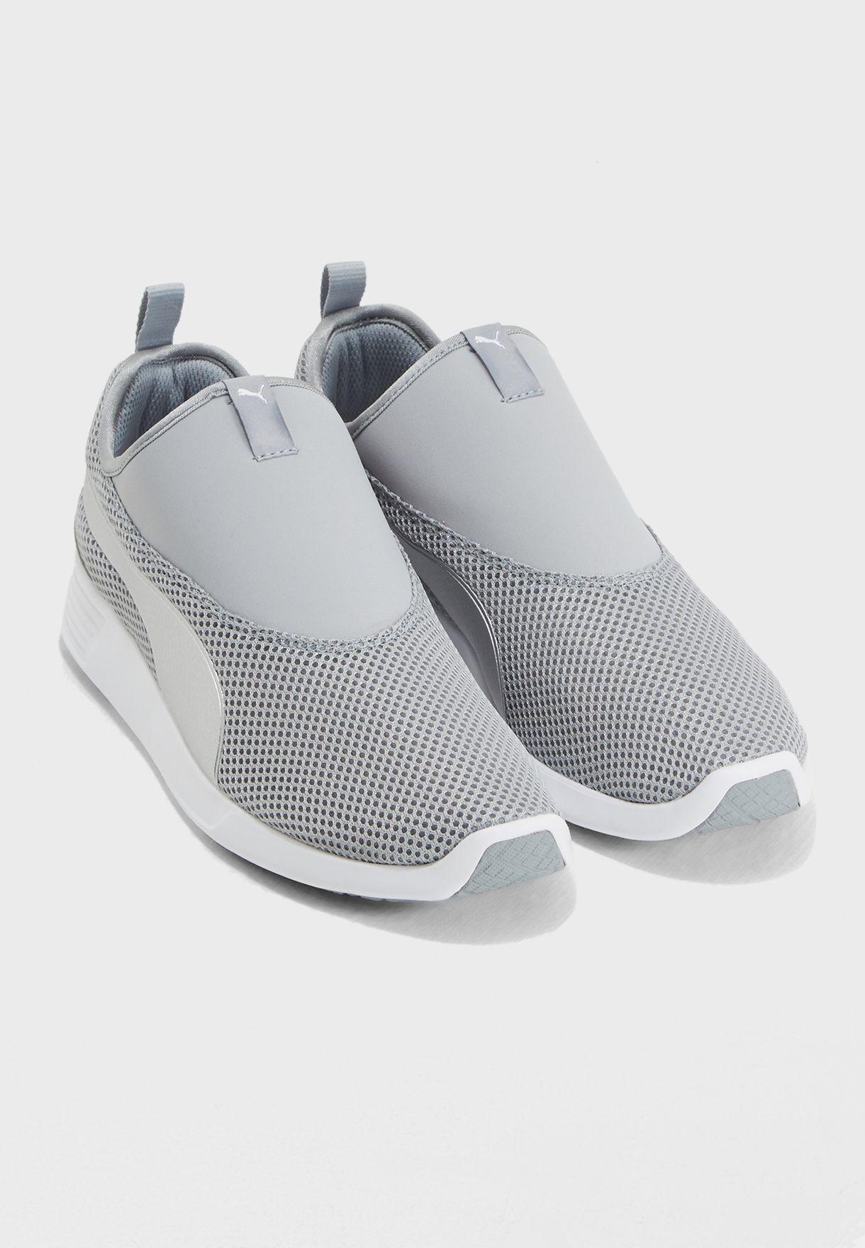 Buy PUMA grey ST Trainer Evo V2 Slip On