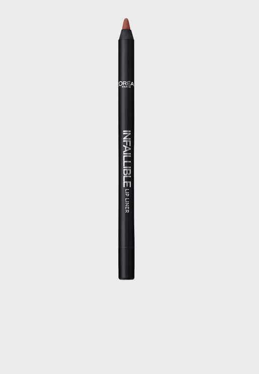Infallible Lip Liner 205 Apocalpyse Red