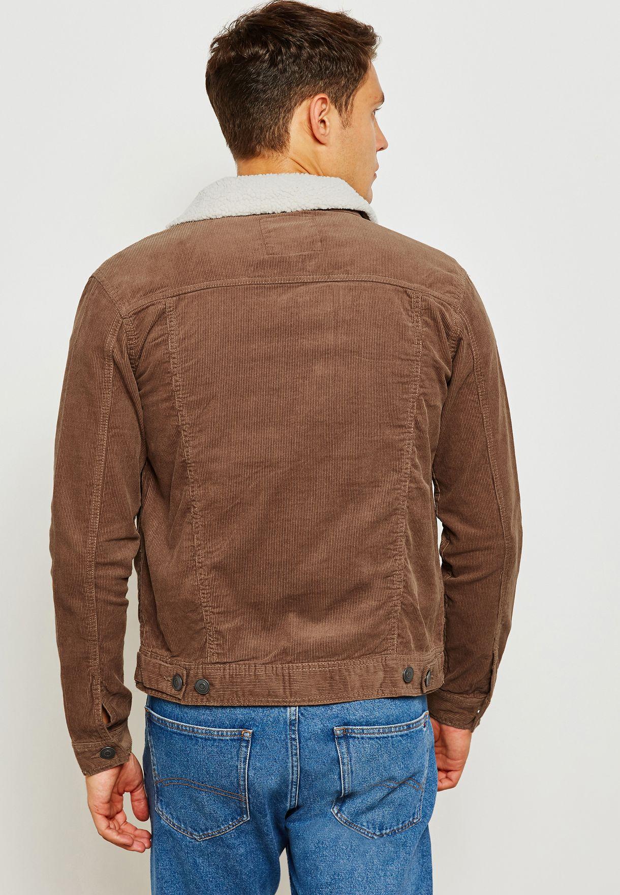 Cord Denim Jacket