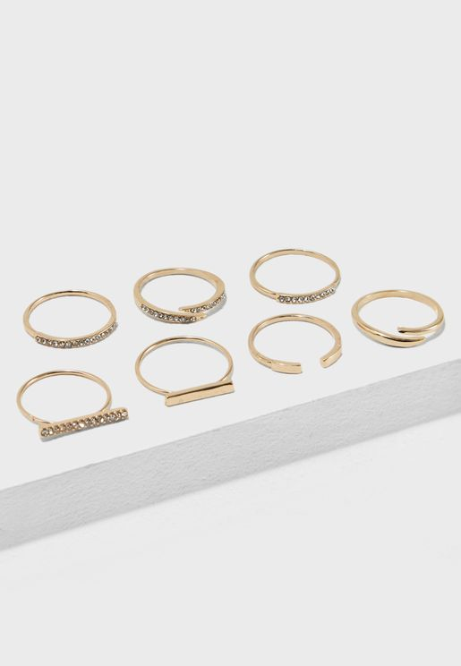 Multipack Thilidien Rings