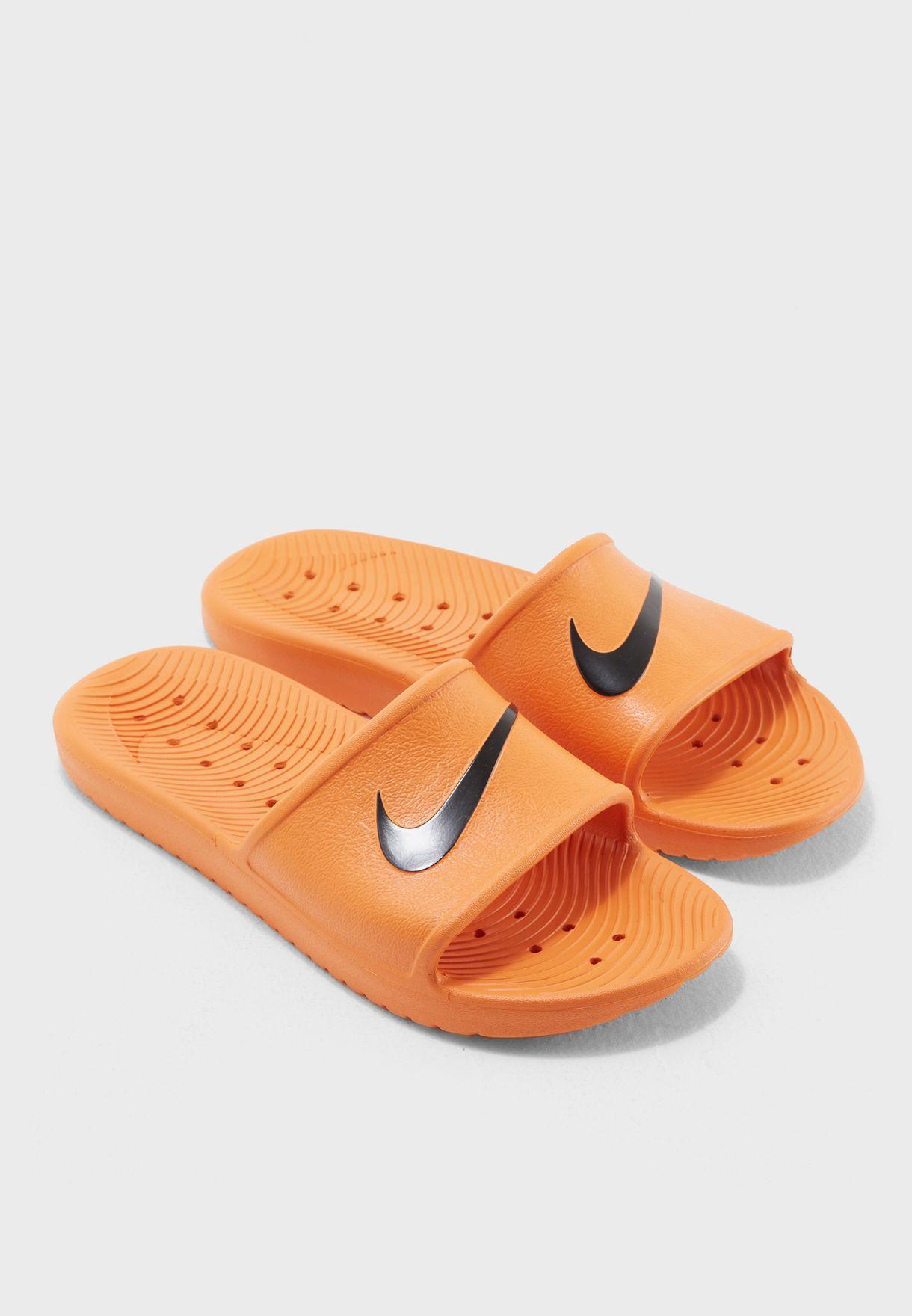 in stock 61831 91562 Shop Nike orange Kawa Shower 832528-800 for Men in Kuwait -