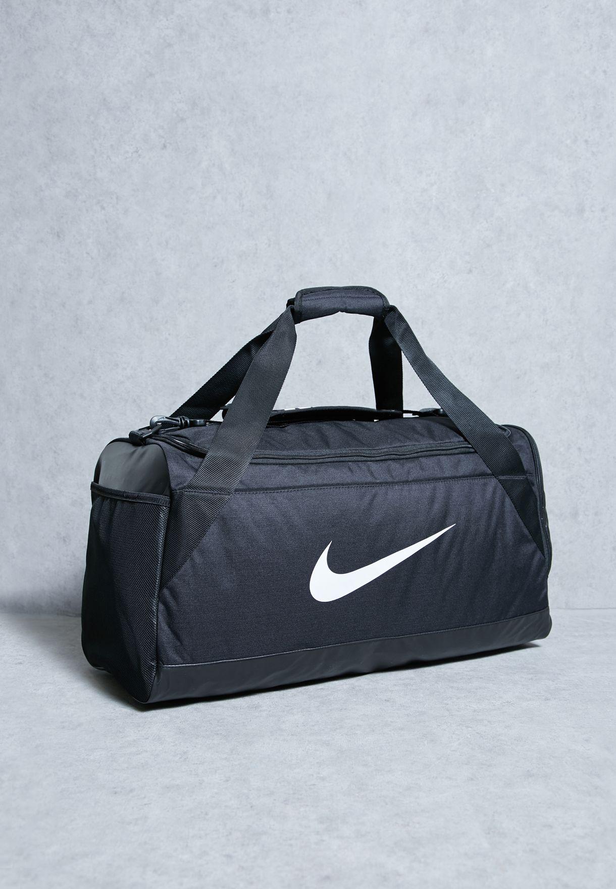 4f9854dd21ae1 Shop Nike black Medium Brasilia Duffle BA5334-010 for Men in UAE ...