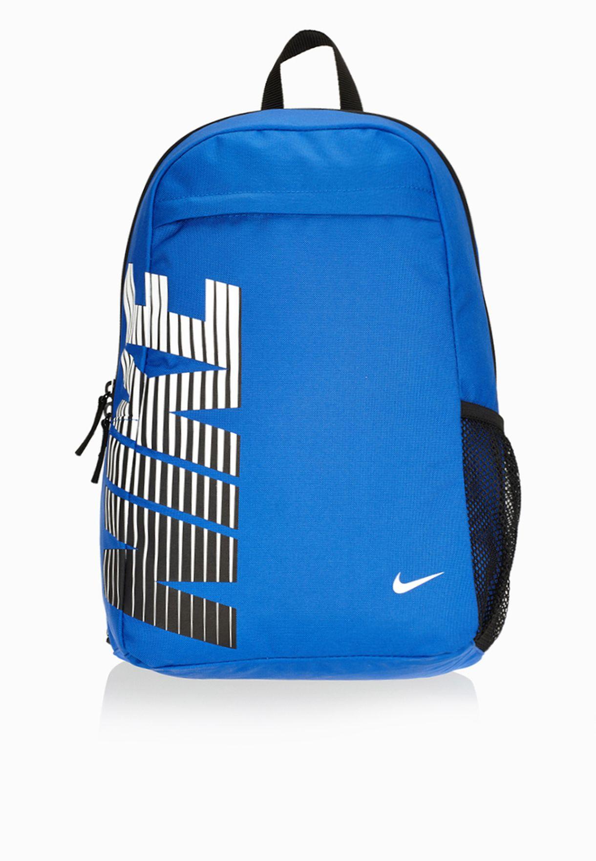 8447bb52e6087 تسوق حقيبة ظهر بشعار الماركة ماركة نايك لون أزرق BA4864-408 في ...