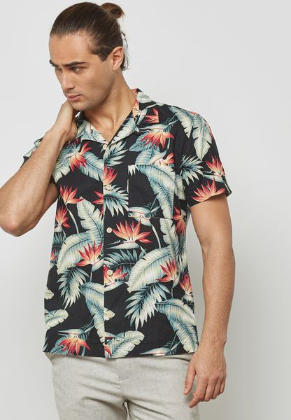 Bert Tropical Printed Shirt