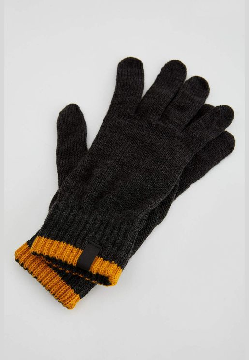 Man Casual Gloves