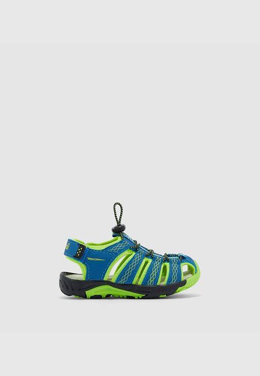 Casual Sandal-Blue