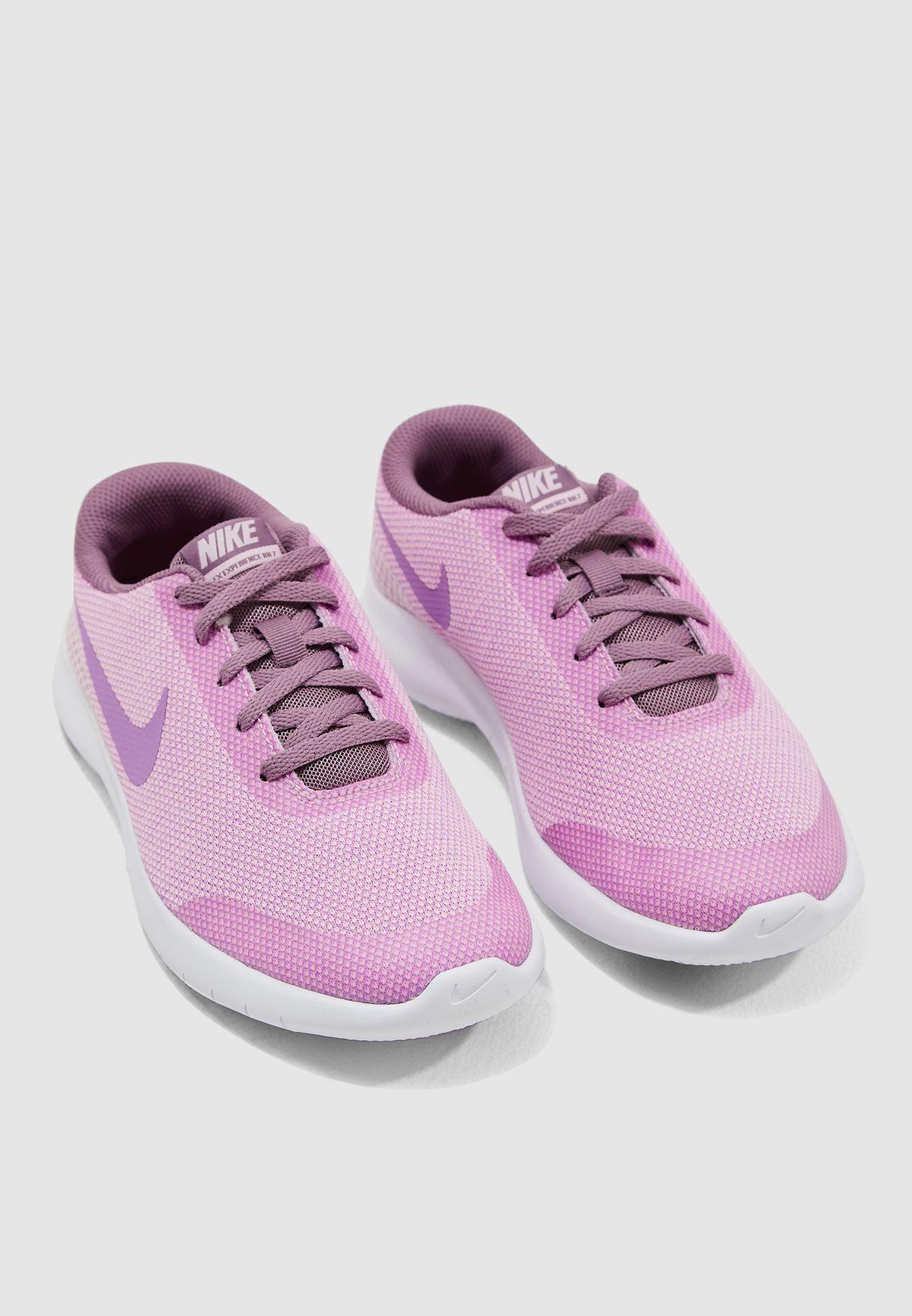 5a6822ec80f5 Shop Nike purple Youth Flex Experience RN 7 943287-602 for Kids in ...