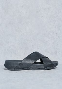 Surfer Cross Slide Sandals