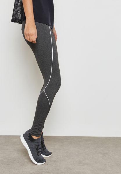 Contrast Piping Leggings