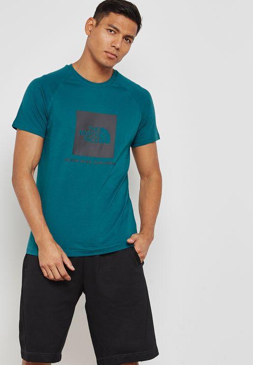 Raglan Red Box T-Shirt