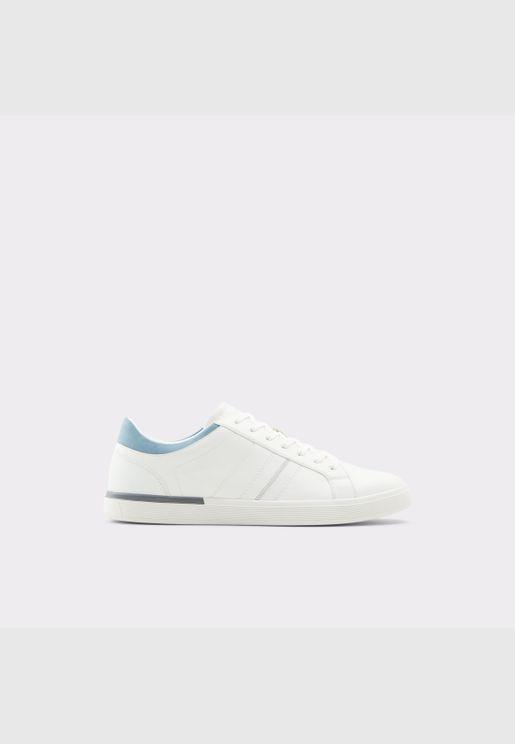 ALDO TUCUMAN Men Synthetic Leather Shoes Flat Heel Euro 46 White