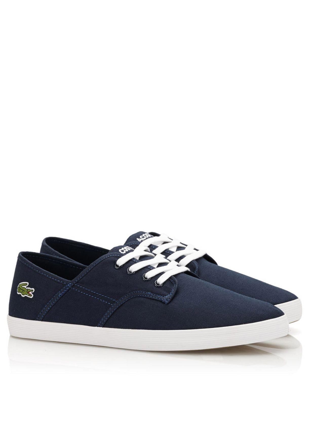 3ee25050f Shop Lacoste navy Andover Eos Sneakers 28SPM0111-DB4 for Men in UAE ...