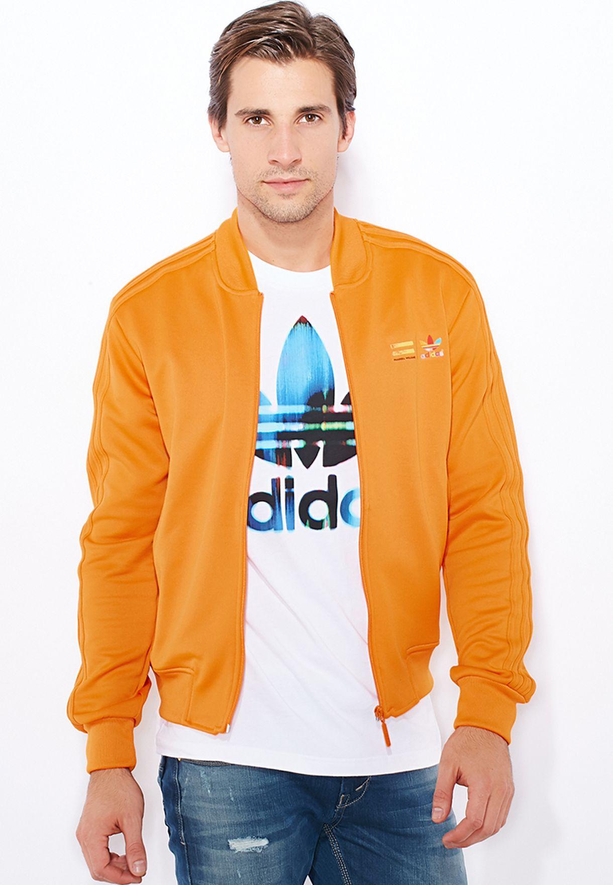 adidas pharrell williams jacke orange